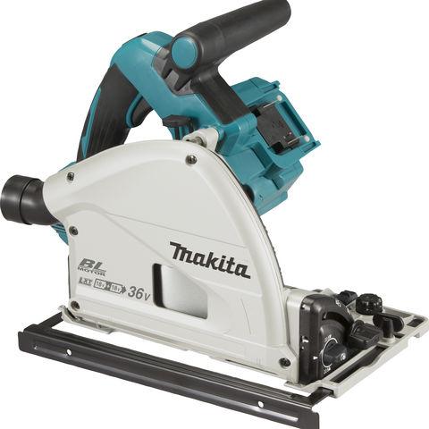 Image of Makita Makita DSP600ZJ 18V x 2 165mm Cordless Plunge Saw (Bare Unit)
