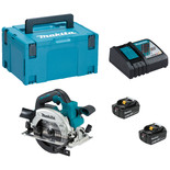 "Makita DHS660RTJ 18V LXT BL ADT Cordless 165mm (6-1/2"") Circular Saw with 2 x 5.0Ah Batteries"