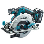 Makita DHS680RMJ 18V LXT BL ADT Cordless 165mm Circular Saw with 2 x 4.0Ah Batteries