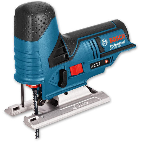 Image of Machine Mart Xtra Bosch GST10.8 V-Li 10.8V Cordless Lithium Ion Professional Jigsaw (Bare Unit)