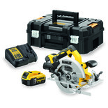 DeWalt DCS570P2-GB 18V XR Brushless Circular Saw with 2 x 5Ah Batteries