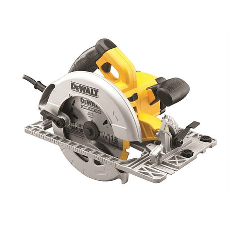 Image of 110Volt DeWalt DWE576K 190mm Compact Circular Saw With Kitbox (110V)