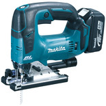Makita DJV182RMJ 18V LXT BL Brushless Cordless Top Handle Jig Saw with 2 x 4.0Ah batteries