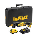 DeWalt DCS310D2 XR 10.8V Compact Reciprocating Saw