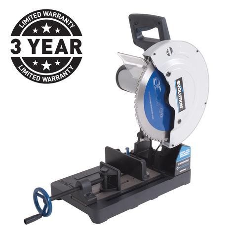 Image of Evolution Evolution EVOSAW355 - 355mm TCT Cut-Off Saw (230V)