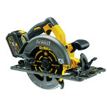 DeWalt DCS576T2-GB 54V FLEXVOLT 190mm Circular Saw (Fits Rail) with 2 x 6Ah Batteries
