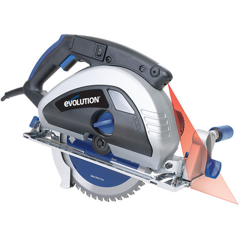 Image of Evolution Evolution EVOSAW230 230mm TCT Steel Cutting Circular Saw (110V)