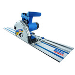 Scheppach PL55 Plunge Saw System with 2x1.4m Guide Rail System