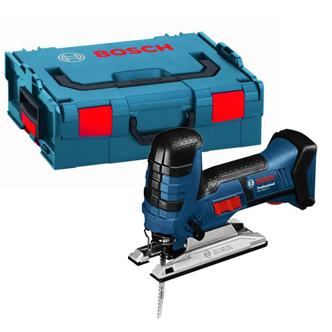 Image of Bosch Bosch GST 18V-LI S Professional Cordless Jigsaw (Bare Unit with L-BOXX)