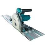 Makita SP6000J/1 165mm Plunge Cut Saw with 1.4m guide rail (230V)