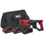 Sealey CP20VRSKIT Cordless Reciprocating Saw Kit 20V - (2 Batteries, Charger & Bag)