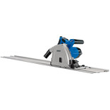 Draper PS1200D 165mm 1200W Plunge Saw with 2 x 0.7m Rails
