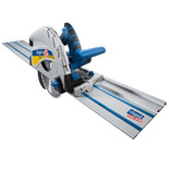 Scheppach PL75 Plunge Saw With 2x 1400mm Guide Track & Pro Accy Pack