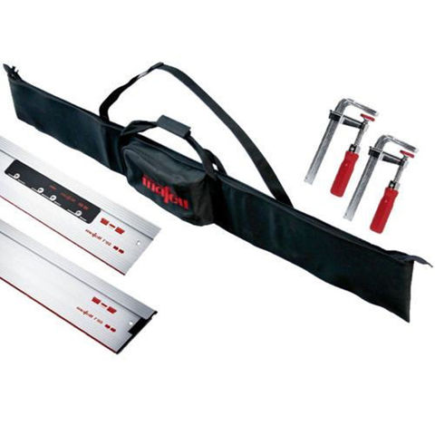 Image of Mafell Mafell - 2 x 1.6m Guide Rail Set With Bag