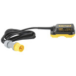 DeWalt DCB500-LX Mains Adapter For 2 x 54V XR FLEXVOLT 305mm Mitre Saw (110V)