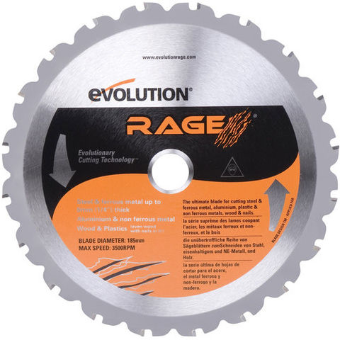 Image of Evolution Evolution Rage 185mm Multicut Blade