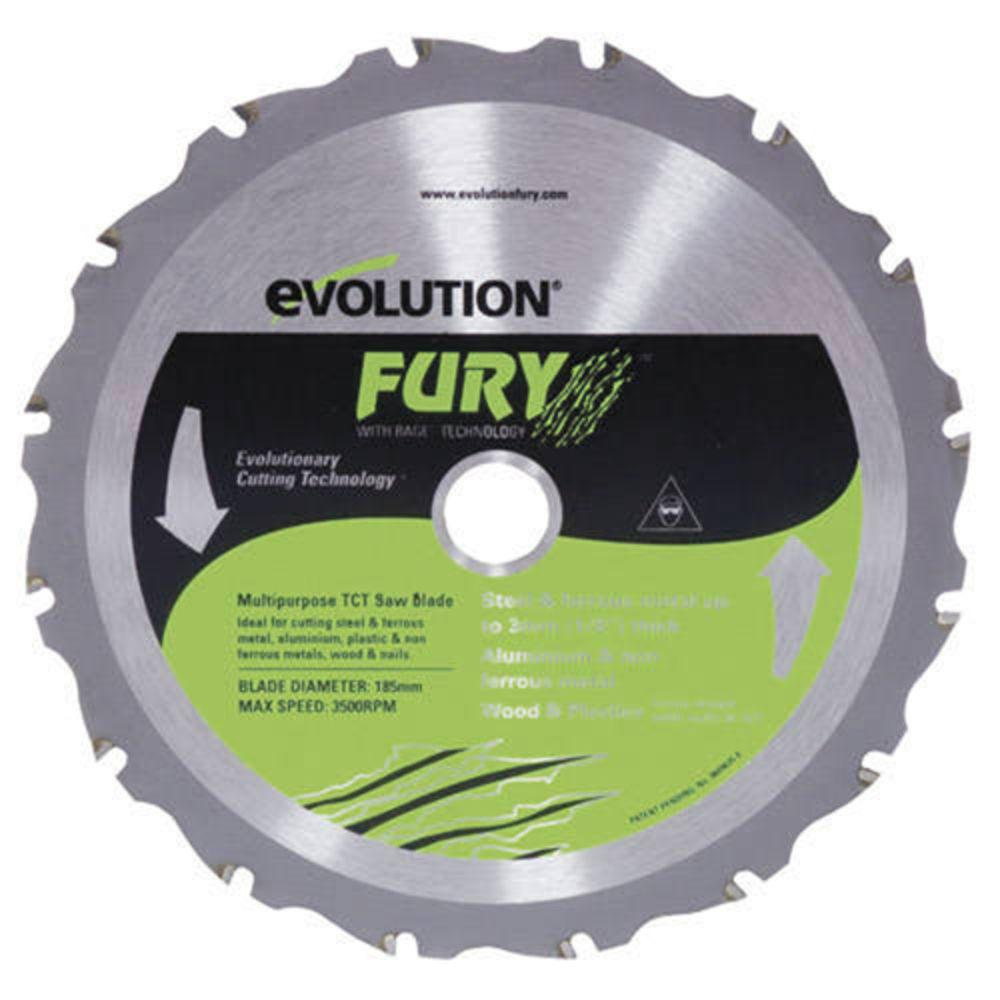 Evolution fury 185mm replacement multipurpose tct blade machine evolution fury 185mm replacement multipurpose tct blade greentooth Images