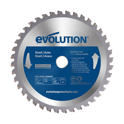 Image of Evolution Evolution 185mm Mild Steel Cutting Blade