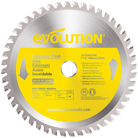 Image of Evolution Evolution 185mm Stainless Steel Cutting Blade