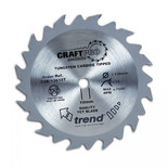 Trend CSB16524TA - 24T 'CraftPro' Saw Blade 165mm