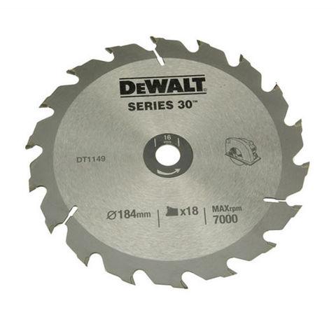 Image of DeWalt DeWalt DT1943-QZ Circular Saw Blade 190x30mm 18T