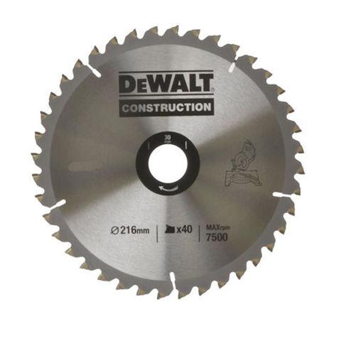 Image of DeWalt DeWalt DT1953-QZ Circular Saw Blade 216x30mm 40T