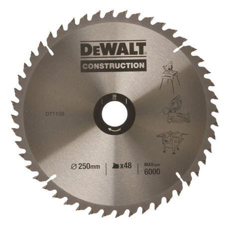 Image of DeWalt DeWalt DT1957-QZ Circular Saw Blade 250x30mm 48T