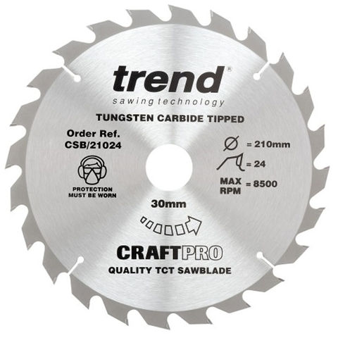 Image of Trend Trend 210mm 36T Craft Circular Saw Blade