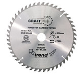 Trend CSB25048 - 48T 'CraftPro' TCT Saw Blade 250mm