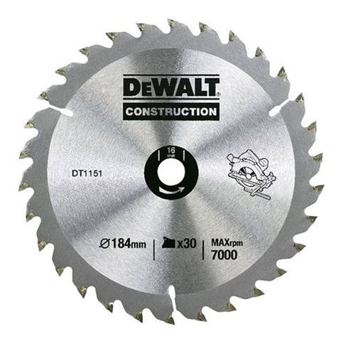 Dewalt dt1940 qz circular saw blade 184x16mm 30t machine mart dewalt dt1940 qz circular saw blade 184x16mm 30t keyboard keysfo Images