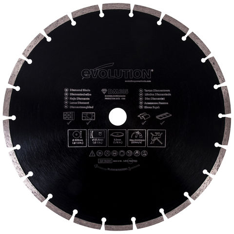 Image of Evolution Evolution Rage 305mm Diamond Blade