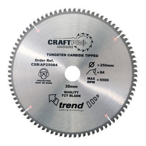 Image of Trend CSBAP25084 - 84T 'CraftPro' Saw Blade 250mm