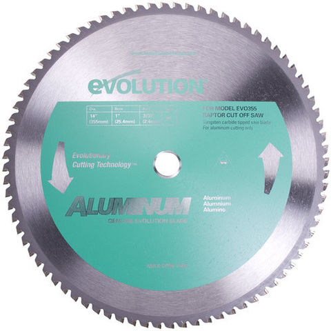 Image of Evolution Evolution Raptor 355mm Aluminium Cutting Blade