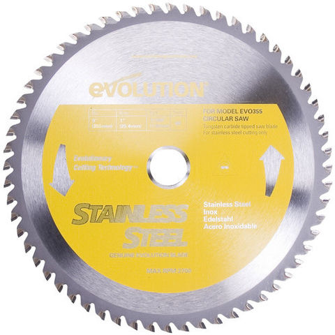 Image of Evolution Evolution Raptor 355mm Stainless Steel Cutting Blade