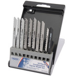 Draper JSBCU10 Expert 10 Piece Assorted Jigsaw Blade Set