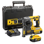 DeWalt DCH273P2 18V Li-Ion Cordless SDS Hammer Drill with 2 x 5Ah Batteries