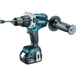 Makita DHP481RTJ 18V Brushless Combi Drill LXT & 2 x 5.0Ah Batteries