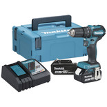 Makita DHP483RMJ 18V LXT BL Brushless  Hammer Drill/Driver with 2 x 4Ah Batteries