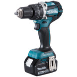 Makita DHP484RTJ 18V LXT BL Brushless Cordless Hammer Drill/Driver with 2 x 5Ah Batteries