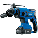 Draper D20 20V Brushless SDS+ Rotary Hammer Drill with 2 x 2Ah Batteries and Charger