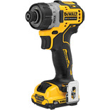 DeWalt DCF601D2-GB 12V XR Brushless Screwdriver with 2 x 2Ah Batteries and Charger
