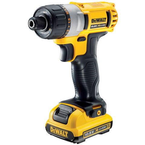 Image of DeWalt DeWalt DCF610D2 10.8V XR Li-Ion Screwdriver With 2 x 2Ah Batteries
