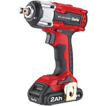 "Clarke CIR18LIC 1/2"" Drive 18V 450Nm Brushless Impact Wrench with 2x  2Ah Battery & Charger"