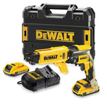 DeWalt DCF620P2K 18V Li-Ion Drywall Screwdriver with 2x5.0Ah Batteries