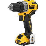 DeWalt 12V XR Brushless Sub Compact Drill Driver 2x2Ah Batts/Charger