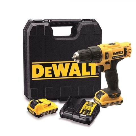 Image of DeWalt XR FlexVolt DeWalt DCD716D2 10.8V XR Li-ion Hammer Drill Driver and 2 x 2AH Batteries