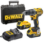 DeWalt DCD791P2 18V XR Li-Ion Compact Drill Driver with 2x5.0Ah Batteries