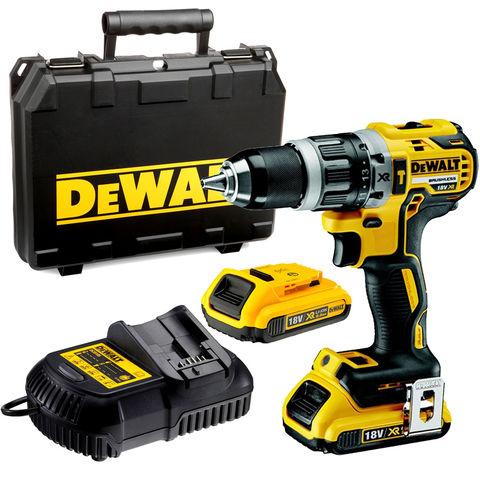 Image of DeWalt DeWalt DCD796D2 18V XR Li-Ion Compact Hammer Drill Driver