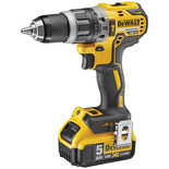DeWalt DCD796P2-GB 18V Brushless 2 Speed Combination Drill with 2 x 5.0Ah Batteries