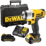 DeWalt DCF813D2 10.8V XR Li-Ion Impact Wrench with 2 x 2Ah Batteries
